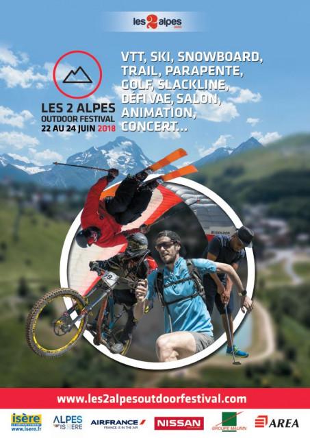 Les 2 Alpes Outdoor Festival : 22-24 juin