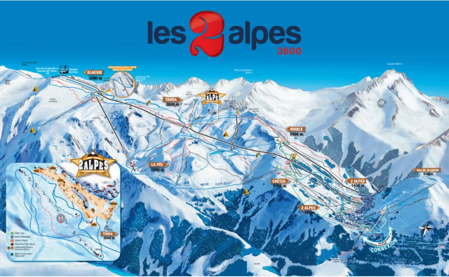 Slopes map