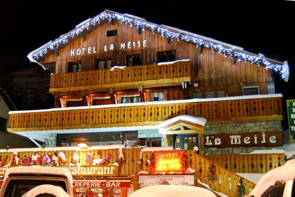 Hotel la meije r servation hotel la meije pour court for Site anglais reservation hotel