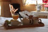 HOTEL CHALET DES CHAMPIONS Breakfast
