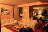 HOTEL CHALET DES CHAMPIONS Living room