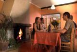 Hotel Le Cret - Les 2 Alpes - salon cheminee