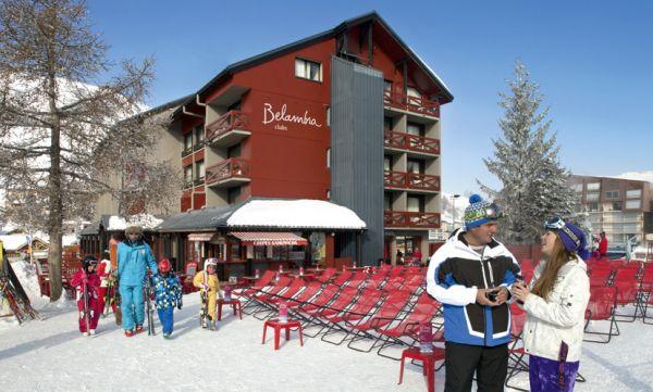 Hôtel Belambra club l'orée des pistes chambre
