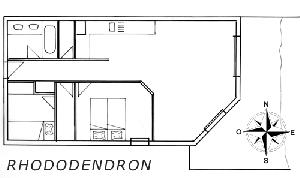 LES BALCONS DE SARENNE N° 10 RHODODENDRON Appartement 6 personnes