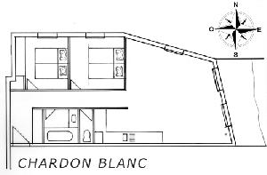 LES BALCONS DE SARENNE N° 11 CHARDON BLANC Appartement 6 personnes