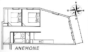 LES BALCONS DE SARENNE N° 9 ANEMONE Appartement 6 personnes