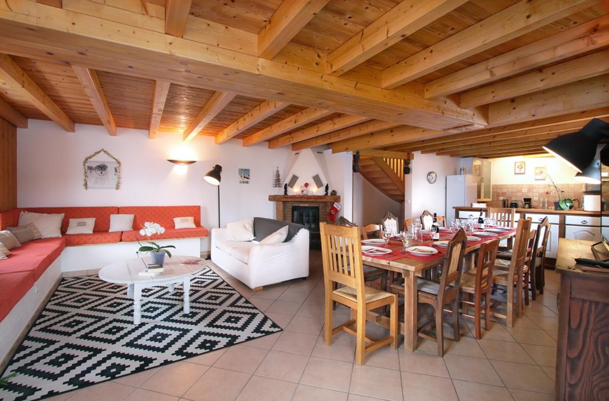 CHALET LES COPAINS - Chalet 14 personnes (Mont de Lans Village: 5 km des 2 Alpes)