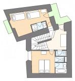 CHALET LE FOYER Map 1st floor