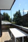 CHALET LES CARLINES Balcon du séjour