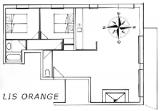 LES BALCONS DE SARENNE N°7 Map of the apartment