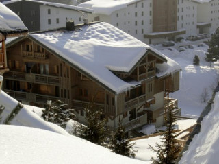 LES BALCONS DES PISTES B110 Vista del' appartamento