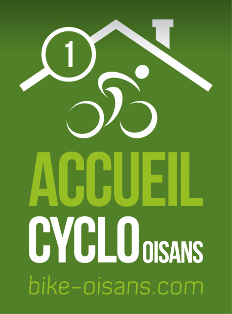 Label Accueil Cyclo Oisans - 1 vélo