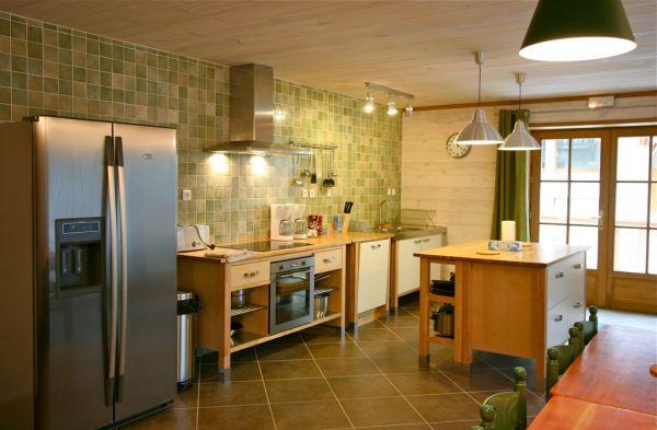 CHALET LE GRILL Kitchen