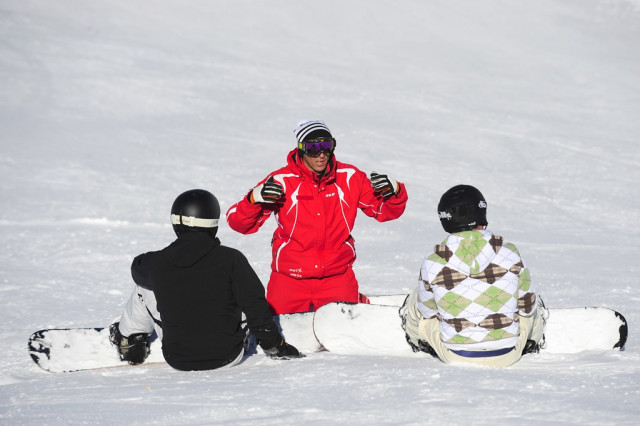 ESF cours snowboard