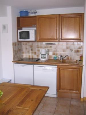 LES CHALETS D'OR D219 Kitchen