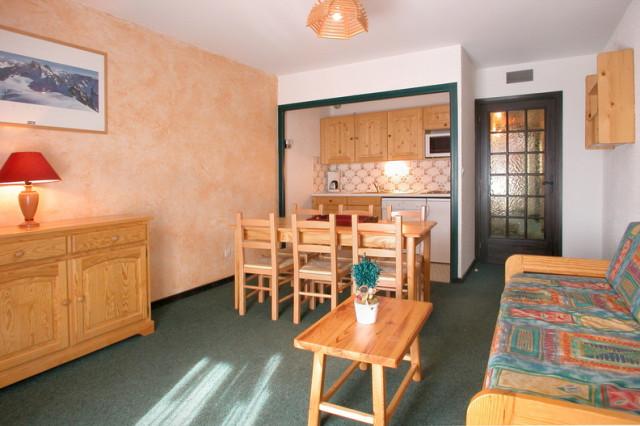 Résidence Les Quirlies Appartement 2 pièces cabine 6 personnes