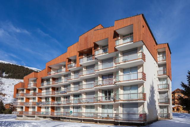 Vacancéole - Le Côte Brune - Appartement 2 pièces cabine 6 personnes