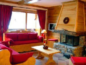 LES BALCONS DE SARENNE N°7 Living room